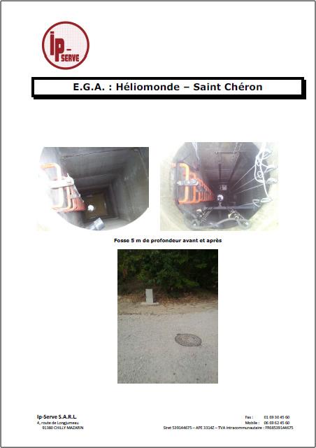 R alisation ip serve cr ation poste de relevageega saint cheron septembre 2012 ipserve - Donne materiaux fin de chantier ...